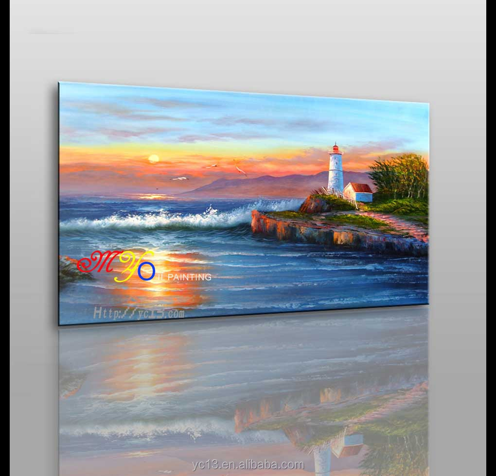 Best Factory Price Seascape Oil Painting CT-37