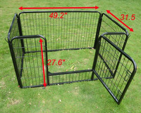 metal dog fence/folding pet fence /expandable fence for dogs