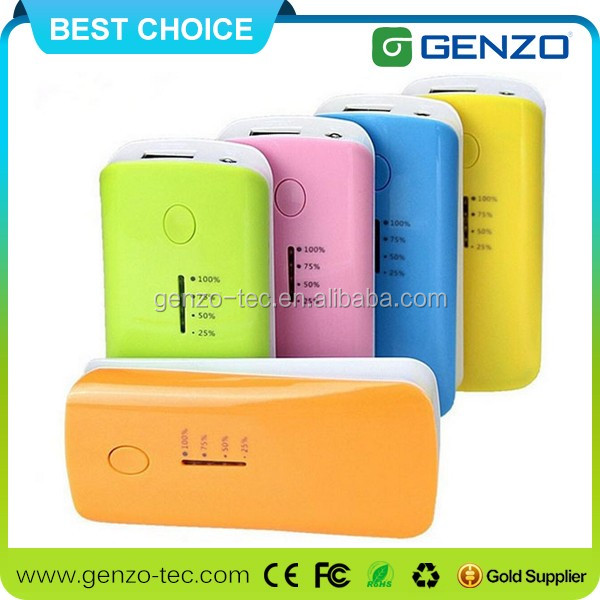 Promotional gift universal portable power bank , Mobile Power Bank support custom External Battery power bank