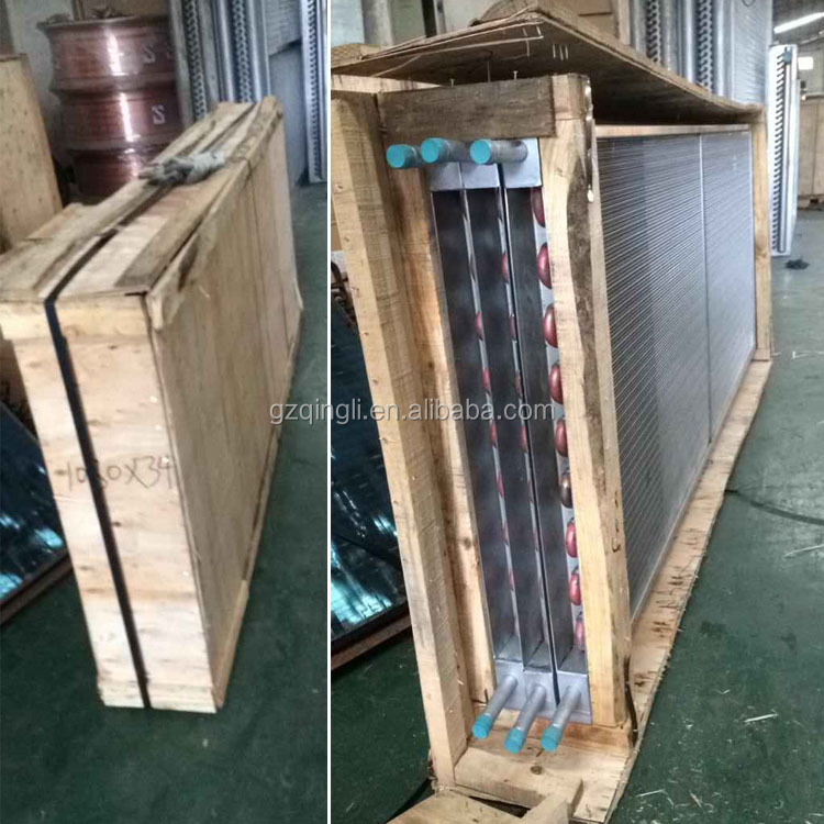 Freezer cold storage blue fin type r410a evaporator
