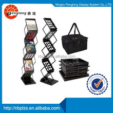 Portable brochure holder,magazine stand A4 size