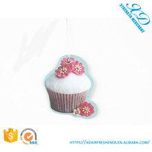 China Factory Supply Hanging Custom Car Paper Air Freshener