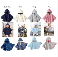 Autumn Winter Baby Outerwear Children Coat kids Coverall Infant Baby Girls Boys Clothes Set Two Sides Wearing Baby Cloak