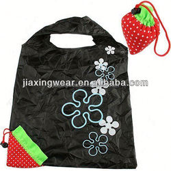Fashion recyclable foldable bag for shopping and promotiom
