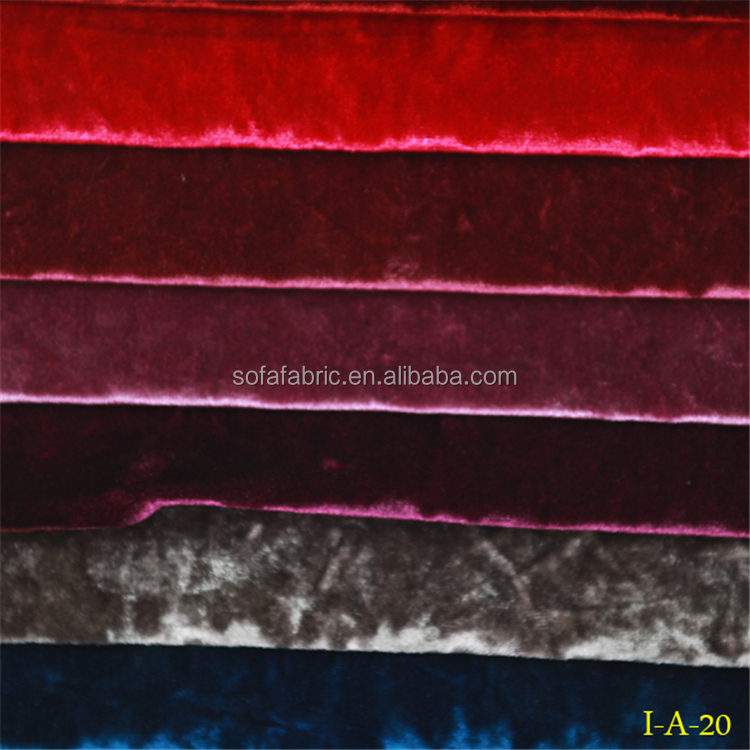 colorful velvet,stock cheap ice velvet fabric