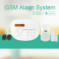 FDL-WFK9G APP control GSM alarm System yard security alarm system gsm security alarm systems for building and Villa