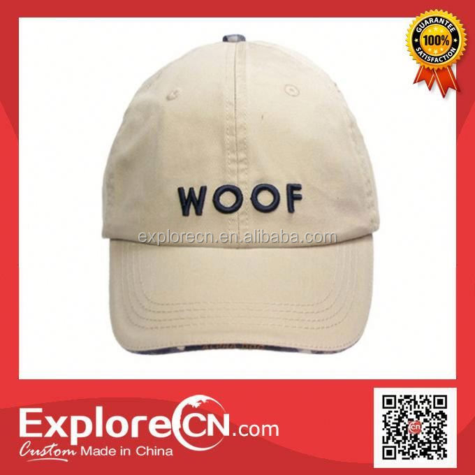 OEM china free sample cotton baseball cap