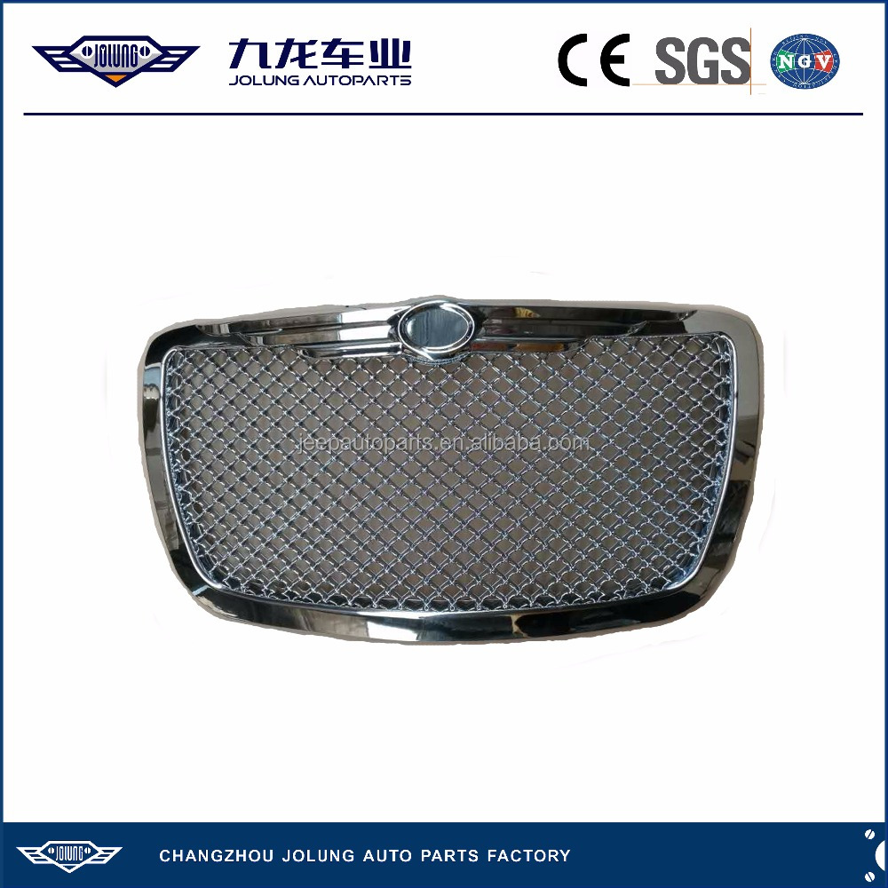 For Jeep Chrysler 300C Chrome Fine Grid Type Grille