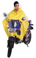 Cassic Style PVC Motorcycle Scooter Bicycle Riding Rain poncho wholesale & OEM service