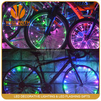 Summer hot-sale bike light for flash bicycle wheel string light