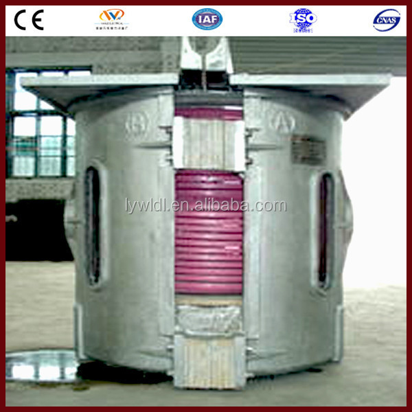 electricity saving device 1.5ton scrap copper electric melting furnace