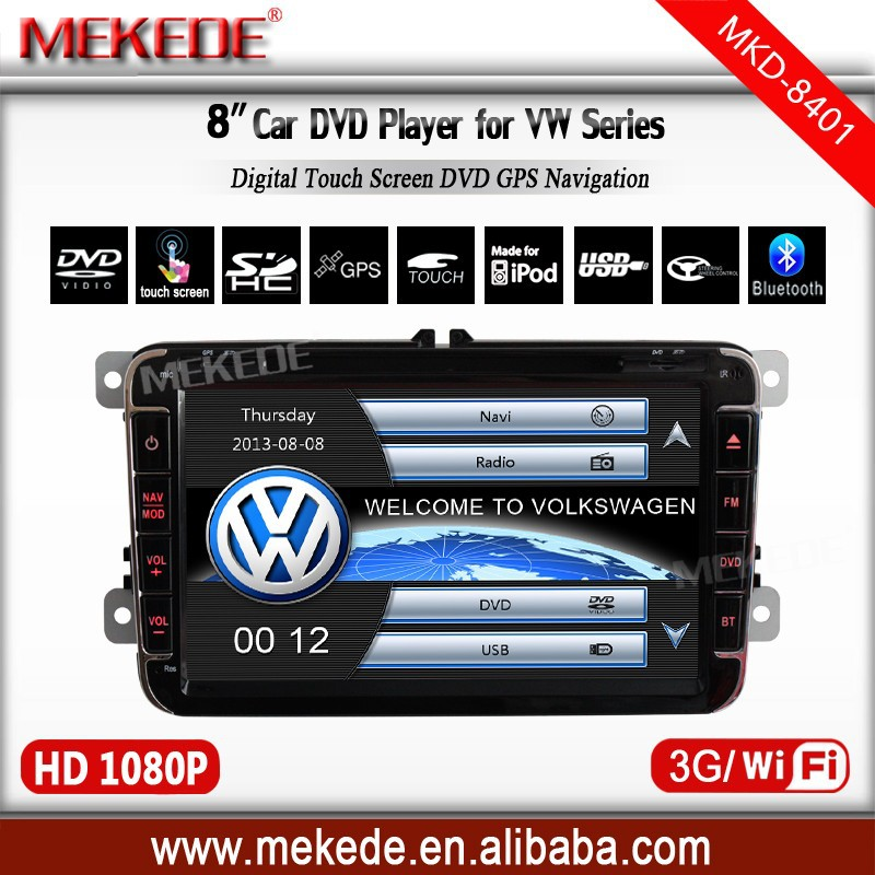 8inch car radio player for Volkswagen Magotan With GPS TV Bluetooth IPOD function