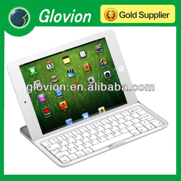 Blue tooth keyboard for mini ipad White mini keyboard with bluetooth for ipad multi-language mini bluetooth keyboard