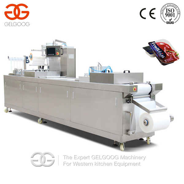 Automatic Stretch Film Thermoforming Meats/Vegetable/Seafood Vacuum Packaging Machine