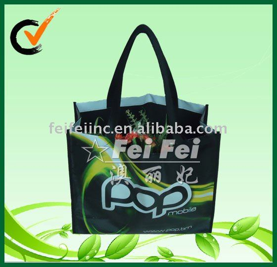 OPP non woven bag lamination big shopper