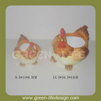 Chicken Decorated Mini Hot Pot Animal Shaped Mini terracotta Pots Wholesale Newest Mini Terracotta Pots Wholesale