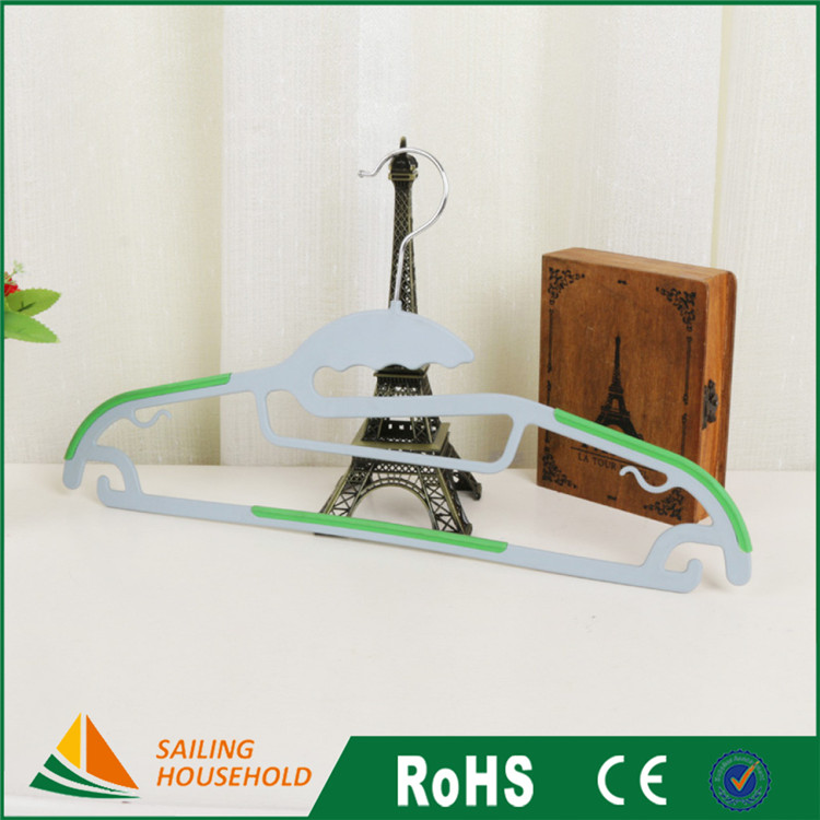 Free sample ceiling mounted clothes drying rack, non slip plastic hangers, childrens hanger wholesale