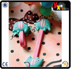 sewing thread winder/lovely cute design silicone/soft pvc cord winder