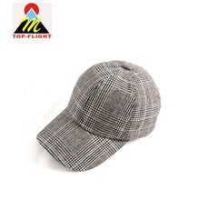 China Wholesale British Baseball Hats Custom Logo With Metal Buckle