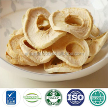 Chinese Cheap Apple Fruit AD Dehydrated Dried Apple Rings with Average Market Price