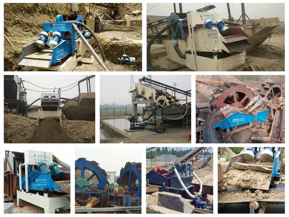 min high efficiency sand washer from china