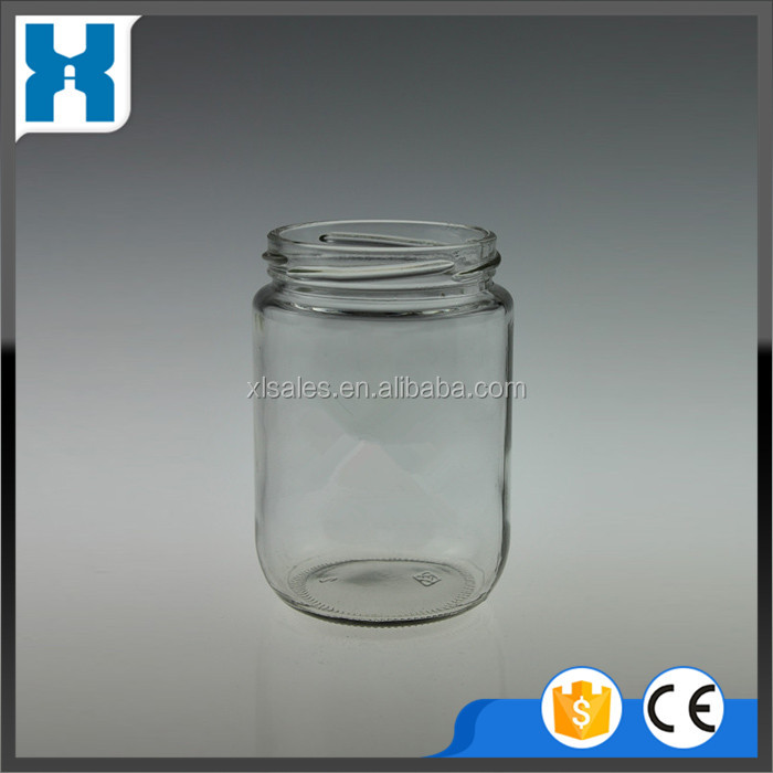 wholesale glass spice jar clear jar good sale normal design
