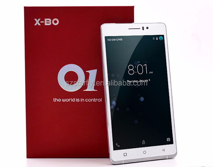 x-bo o1 android smart phone 2.5d tempered glass screen 3g cellular phone 1g ram 8g rom cell phone