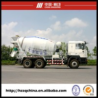 High Efficiency Truck Mounted Concrete Mixer,Large Capacity Concrete Mixer Truck