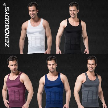 107 Corset Men Waist Belly Shaper Belt Vest