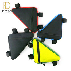 4 Colors waterproof bike top tube bags triangle pouch frame holder cycling bicycle saddle bag