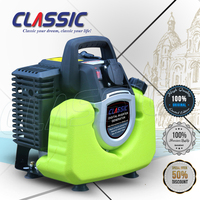 CLASSIC CHINA 950 Portable Petrol Generator Mini Gasoline, 2 Stroke Air Cooled Small Generator 500 Watt