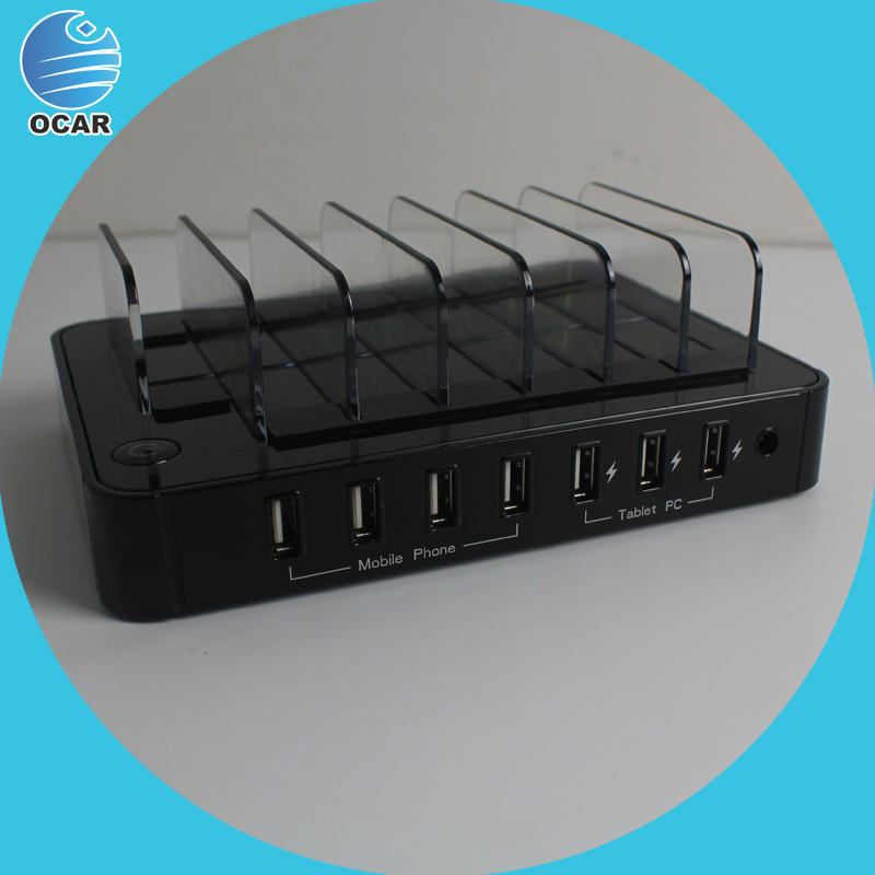 7 port usb charger top selling products 2015 multiple cell phone charging station portable solar charging station