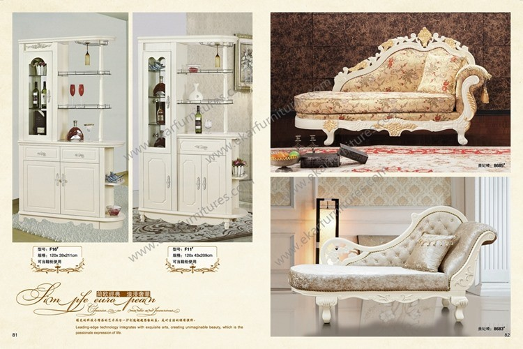 Sofá de madera muebles de sala sofá de madera tallada juego de ...