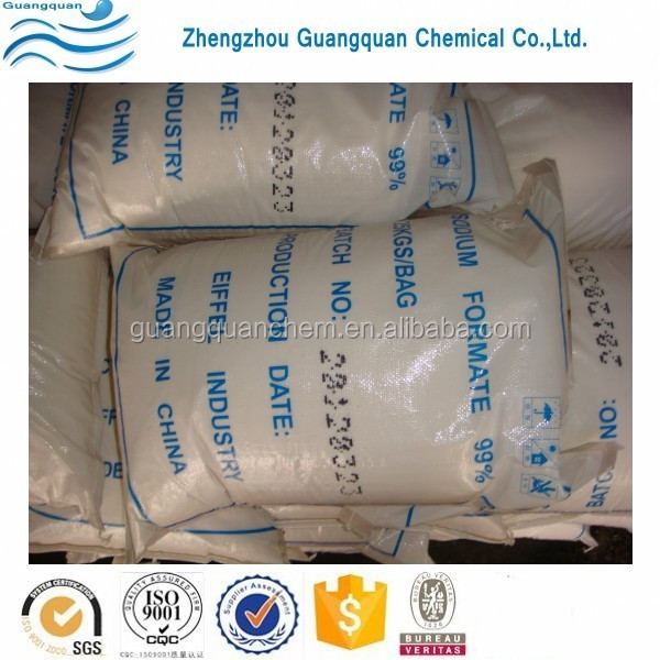 Dye Industry Chemicals Low Price 95% Sodium Formate Factory