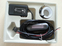 auto electromagnetic parking sensor no holes need,easy install,,parking radar,Bumper guard back-up parking sensor
