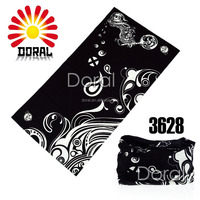 YIWU Manufacture Make Cheap Seamless Fabric Polyester Knit Bandana Outdoor Headwear