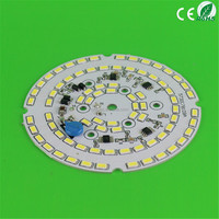pcb factory round 110mm smd 2835 led bulb pcb 25-40w led pcb board