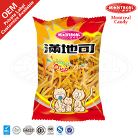 Crisp snack food healthy prawn cracker