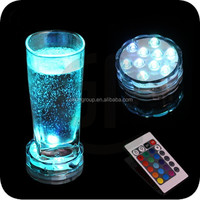 Magic Motor Swirling Glitter Water Color Changing Birthday LED Candle Light