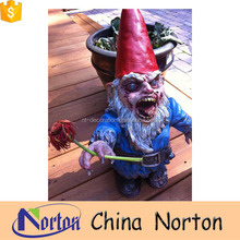 Resin custom Zombie garden Gnomes for Halloween decoration NTRS-CS011Y