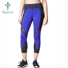 Hot Items Ladies Gym Compression Wear Fitted Capri Pants Exercise Tight Pants