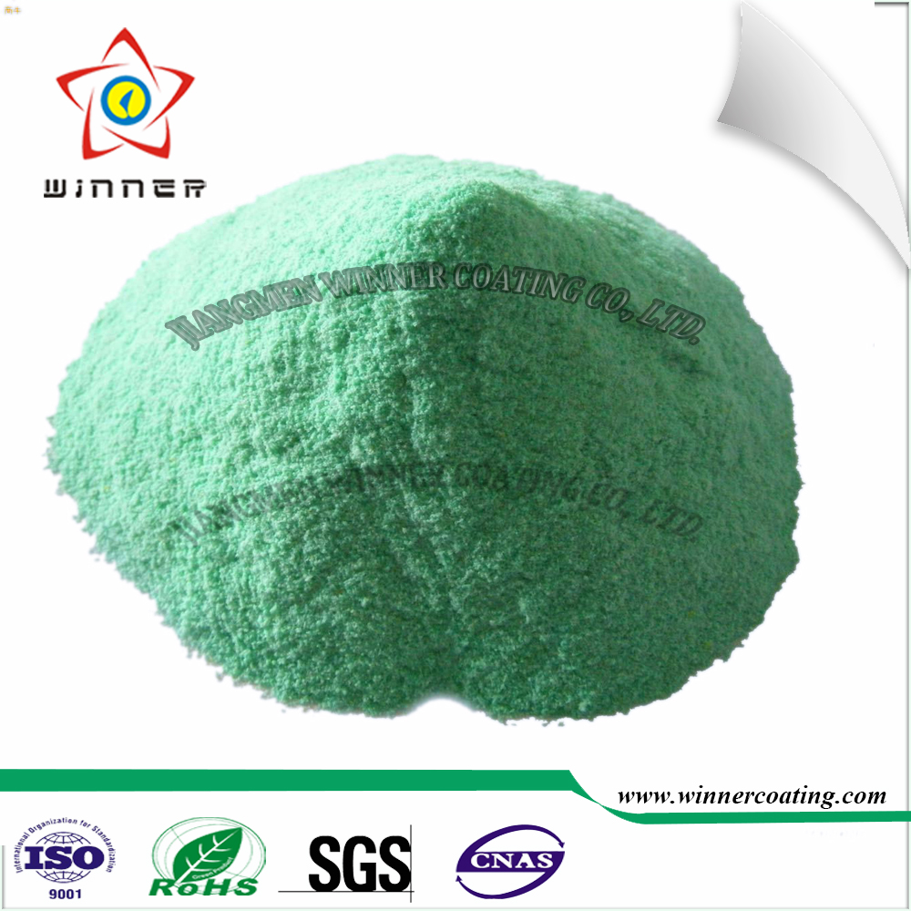 Home <strong>appliances</strong> use good chemical resistance interior green color epoxy polyester powder coating paint