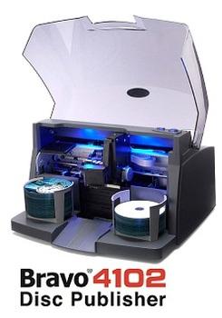 Primera Bravo 4201 Disc Publisher | CD/DVD Duplicator ...