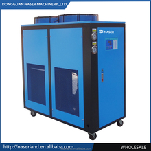 injection molding screw-type water chiller buyer and industrial water cooled chiller