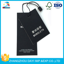China supplier custom made all kinds of paper car hang tags