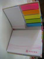 Fancy cute memo sticky notes book
