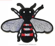 Cheap selling computer embroidery chapter, fashion cartoon / Bee pattern for embroidery patch