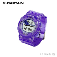 fashion beautiful multi-function digital sexy ladies watches