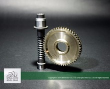Brass Gears Worm Gear and Worm Set