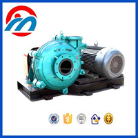 High chrome rubber lined slurry pumps